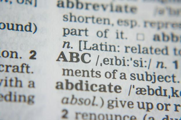 Wo kommen unsere Wörter her und was bedeuten sie?