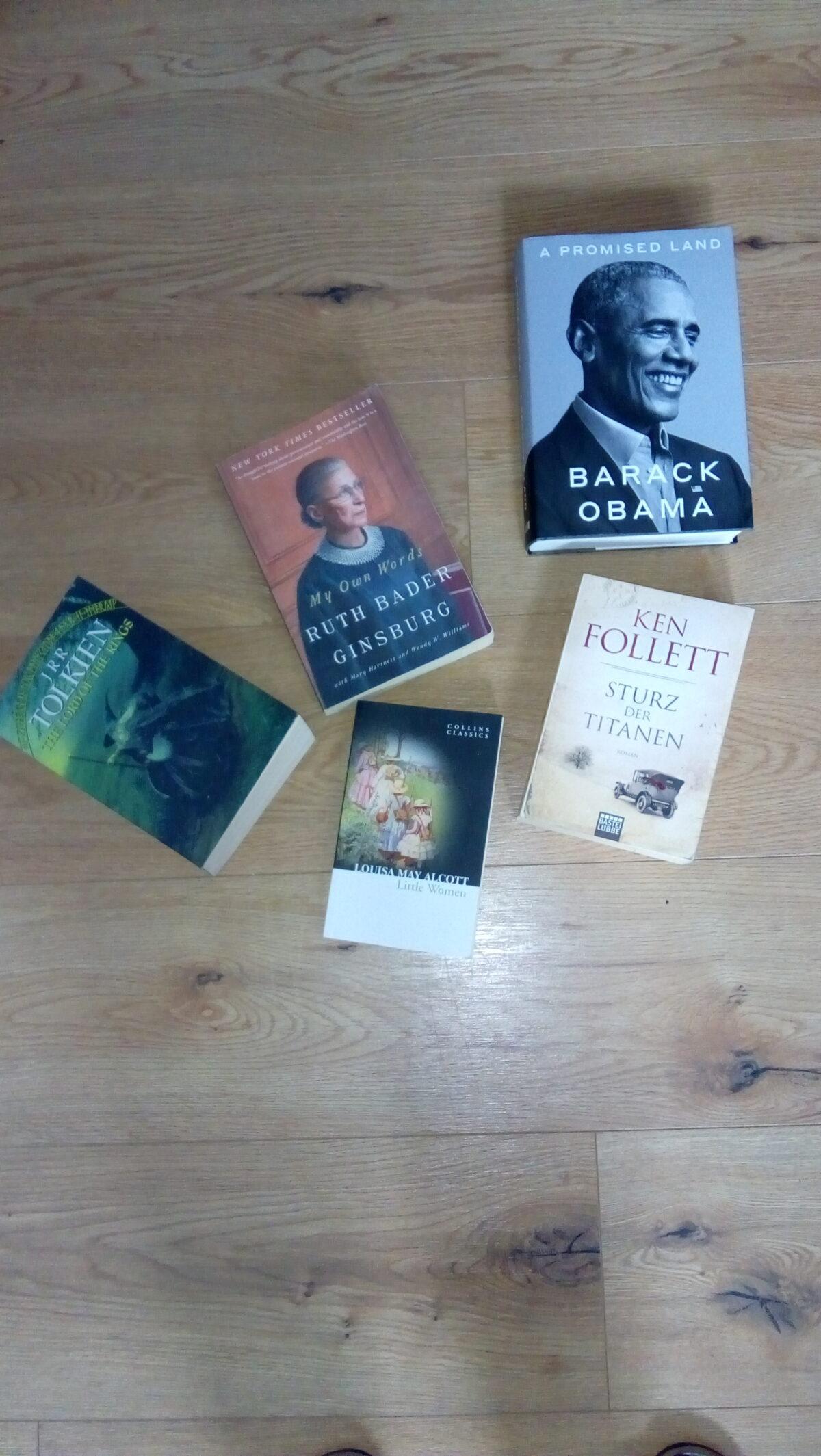 Bücher im Lockdown
